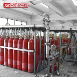 CO2 متطلبات فحص نظام إطفاء الحريق الثابت إخماد الحريق أوتوماتيكيًا النظام