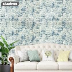 Личности Akadeco цемента синего цвета кирпича промышленных стиле гостиной спальне моделирование 70x77см декоративные обои
