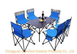Cheap OEM et ODM fête de famille de mobilier de jardin de gros Camping Table, chaises de pique-nique de pliage