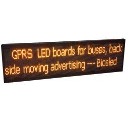 Einzelner Bildschirm-Vorstand der Farben-LED für das Bus-Rückseiten-Bekanntmachen