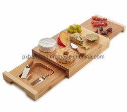 竹製チーズボードアカシアチーズカッティングボード在庫あり 中国工場