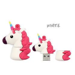 Cartoon dons de PVC Pen Drive Flash USB personalizados de disco de 16 GB