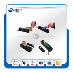 NFC USB+Póngase en contacto con el escritor lector de tarjetas IC+ Lector de banda magnética Chc-110