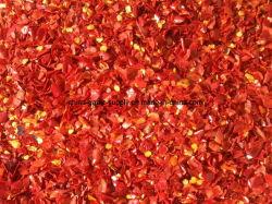 El nuevo cultivo aire natural Seco Seco deshidratado, el pimiento rojo picado