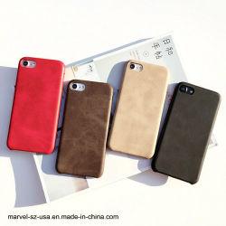 Fashion PU Ultra-Thin Tampa de Negócios Caso Telefone para iPhone