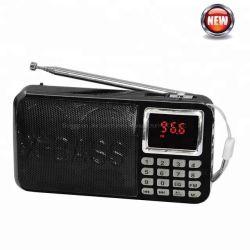 Altoparlante radio FM tascabile multimediale con lettore MP3 USB SD