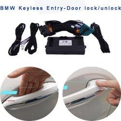La serratura di portello centrale dell'automobile del kit della serratura dell'entrata del sistema Pke dell'allarme Keyless a distanza dell'automobile per BMW F18 F07 F10 F01 F02 con la finestra rotola in su