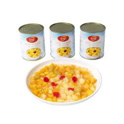 ホットセリング缶詰フルーツカクテルとプライベートラベル