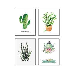 Combinación de 4 piezas de Pulverización de plantas de pintura SIN CERCO