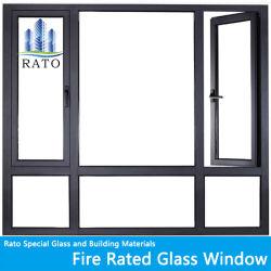 カスタム火の評価される耐火性の鋼鉄アルミニウム開き窓のWindows