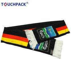 Bufanda de punto marca personalizada de promoción de la bufanda del ventilador