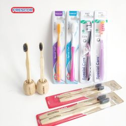 Escova de Dente de Cuidados Pessoais biodegradável ecológico de produtos de bambu escovas de dentes Adulto