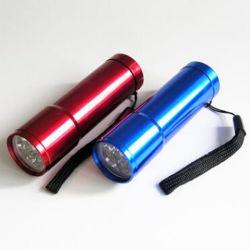 Fait en usine de l'Aluminium Mini Torche Lampe torche à LED de gros de lumière