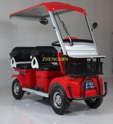 セリウムおよび音楽の大人4の車輪の余暇の電気移動性Tuk Tuk 60V500W