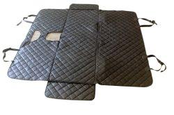 Non-Slip Protector do assento preto grossista colcha de luxo cachorro impermeável carro capa do assento