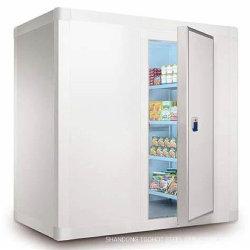 جليد - باردة يجمّد مجلّد مستودع غرفة تخزين من [فرويت فجتبل] بطاطا [فيش مت]