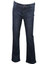 Jeans del denim delle donne di stirata del cotone di alta qualità dell'OEM