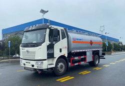 FAW 4X2 180HP 14000 litros camião de transporte de Óleo do Tanque de Combustível Gasolina Diesel veículo de entrega