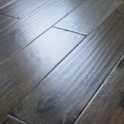 أثر قديم رماديّ متعدّد طبقة سنط أرضية خشبيّة