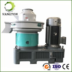 El aserrín Granulator biomasa pellets de madera de paja de la máquina de prensa