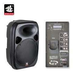 15 polegadas amplificador digital de 350W EQ Bluetooth ativo de plástico para iPod alto-falante PA (PS-0715DEPD)