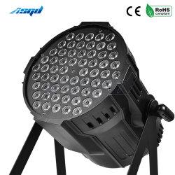 Asgd 54X4w par l'éclairage à LED RGBW 4en1 Aluminium DMX Uplighting disco dj laver effet stade professionnel plancher de danse de la barre de feux