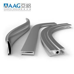 Perfis extrudados de alumínio/alumínio para fins industriais