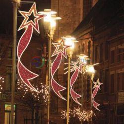 Улицы светодиодный светильник с оформлением на Столб света праздник света вне помещений