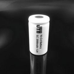 De sub Navulbare Batterij 2000mAh van NiCd van de Grootte van C voor het Licht van de Noodsituatie