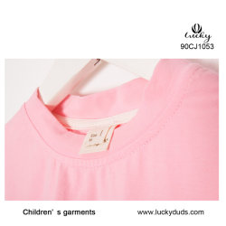 Neues Entwurfs-Mädchen-Rosa-Normallack-reizend Kleid