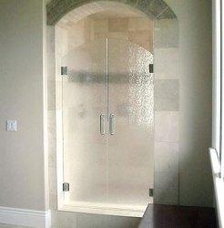 ドアのパネルのための緩和された図転送されたガラス