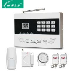 Беспроводной светодиодный дисплей домашней безопасности охранной сигнализации GSM