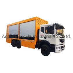 La parte posteriore di alluminio del camion dell'otturatore del rullo rotola in su il portello usato per il vari camion e veicolo
