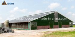 中国の低価格のフィリピンのためのプレハブの鉄骨構造の層の小屋の養鶏場の家