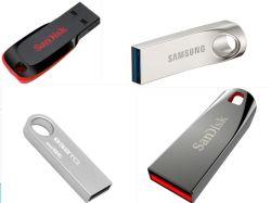 Grabado láser personalizado Logo 3D de memoria Flash USB Pendrive USB Stick