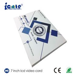 La Chine usine Vidéo Brochure Carte avec la conception OEM