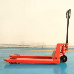1.8Ton 2tonne 3tonne 4tonne 5tonne le fonctionnement manuel du système hydraulique des roues de PU Type de manuel de la palette des crics Transpalette avec la meilleure qualité de l'équipement de levage