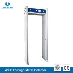 Самый низкий одной из зон безопасности дверной рамы сканера /металлические ходьбы через ворота для Индии на рынок