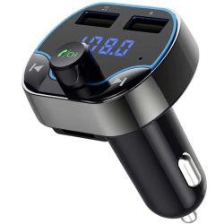 T24 два порта USB Bluetooth FM-передатчик для установки в зарядное устройство MP3-плеер для мобильных телефонов