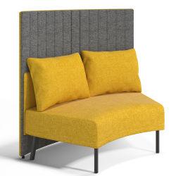 Form-Gewebe-Sofa stellt modernen Büro-Sofa-Empfang ein