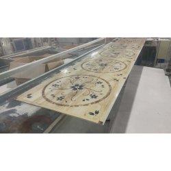 PVC faux plafond carreaux 595mm 600mm PVC panneau de plafond en gypse Plafond en PVC carré toit T plafond à grille
