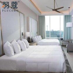 Roupa de cama branca Consolador Define Luxury Hotel colchas de cama Jacquard roupa de Ajuste