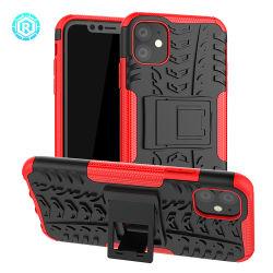 Dazzle Téléphone Téléphone cas capot avec support intégré pour l'iPhone 11