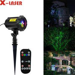 Paisagem decoração Casa Jardim Laser luzes cintilantes RGB Luz Firefly luz laser