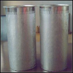 金属304 316は穴があいたステンレス鋼の金網フィルターシリンダーか管または管カスタマイズした