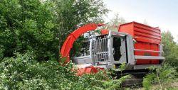 Máquinas para a colheita de biomassa para energia de biomassa CPE