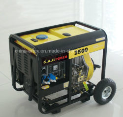 3kw 3.5kw 3 kVA3500W AC de Eenfasige Mini Draagbare Diesel Generators van de Macht