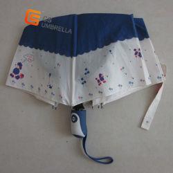 Двойная ткань Jioined Автоматическое складывание зонтик (YSF3027B)