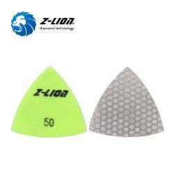 Треугольник Diamond вакуумный спаяны гибкие возможности для полировки гранита шлифовка