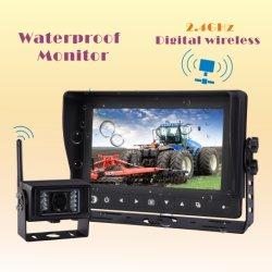 Digital Wireless Waterproof Car Video para Farm Tractor, Combine, Cultivator, Plough, Trailer, Truck